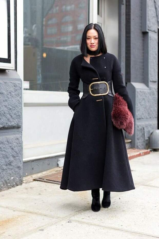 Как носить широкий пояс в этом сезоне – модные приемы