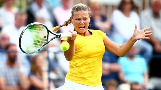 Мельникова проиграла ван Эйтванк во 2-м круге турнира в Ноттингеме