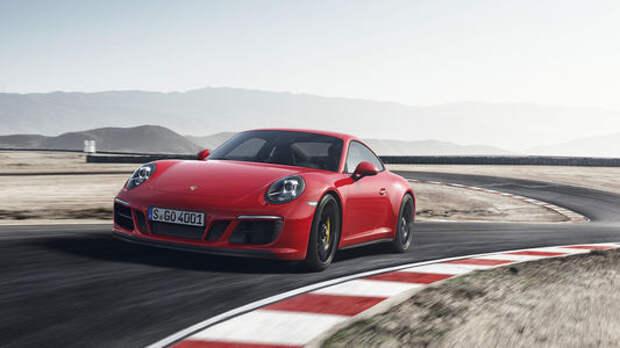 Рябь в глазах: Porsche 911 GTS надел «кислородную маску»