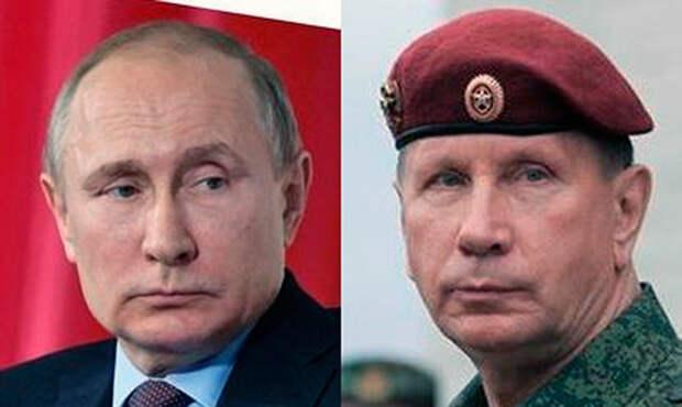 Внешнее сходство Золотова и Путина привело к появлению конспирологической версии об их родстве