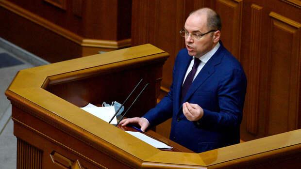 В Раду внесли представление об отставке главы минздрава Украины