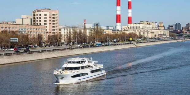 Собянин рассказал о развитии водного транспорта в столице Фото: Ю. Иванко mos.ru