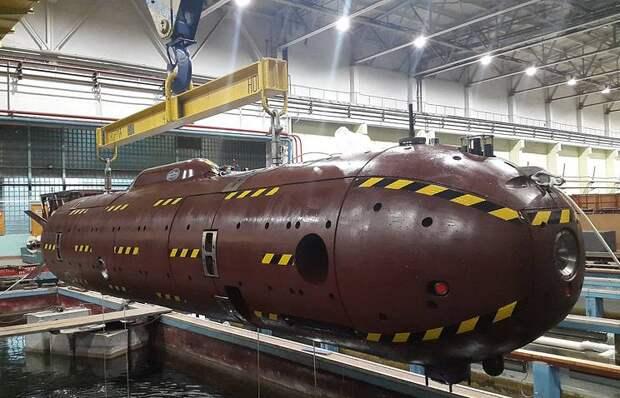 Автономный необитаемый подводный аппарат «Сарма»