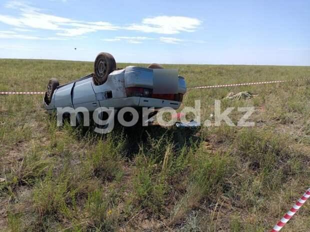 29-летний мужчина погиб в аварии на автодороге в ЗКО