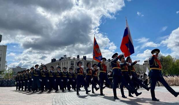 Как вБелгороде прошёл парад Победы: фоторепортаж