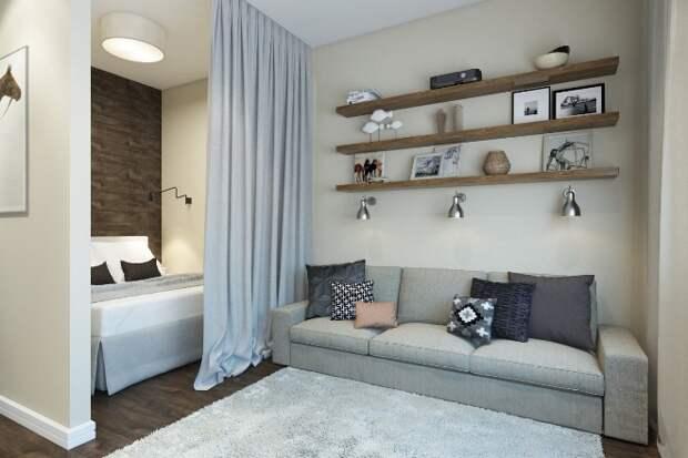 Дизайн спальни 16 кв. м: планировка, зонирование, выбор стиля (55 фото)