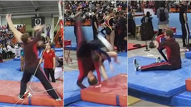 Видео, где тренер спасает свою ученицу от смерти, стало хитом в сети