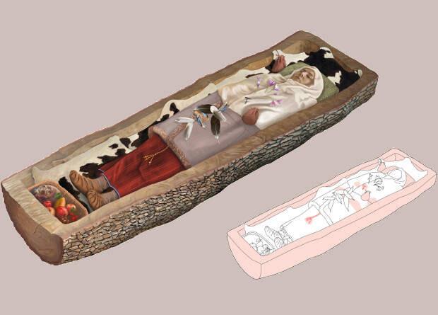 Умершая в 200 году до нашей эры кельтская женщина оказалась изнеженной сладкоежкой