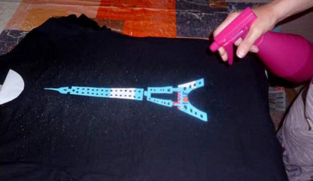 Изумительный handmade: Декорируем футболку