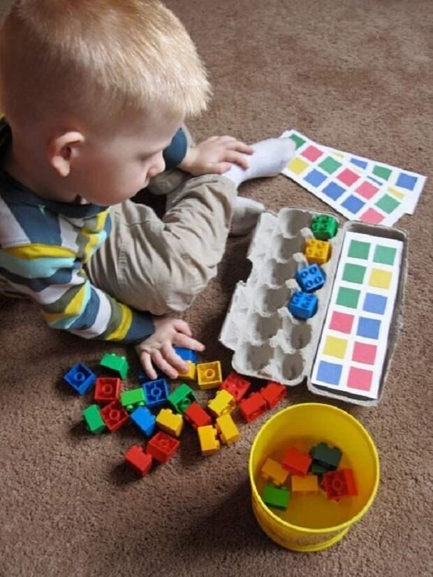 Или такую игру вторая жизнь вещей, контейнер из-под яиц, коробка из-под яиц, своими руками, сделай сам