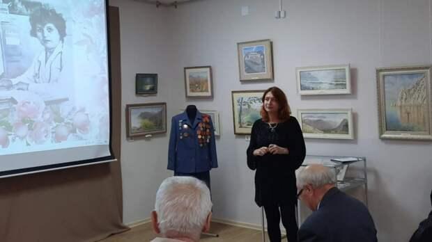 Вечер памяти, посвященный участнице партизанского движения Сафие Кассе, состоялся в Крымскотатарском музее культурно-исторического наследия