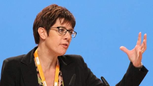 Минобороны Германии сделало заявление по «Северному потоку-2»