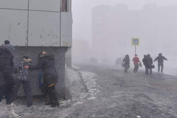 Черная пурга в Норильске: конец света, который почти не замечают местные