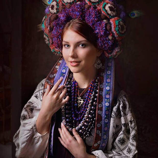 Украинские венки как произведение искусства