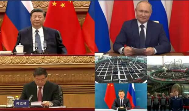 Строительство новых энергоблоков двух АЭС вКитае запустил российский президент