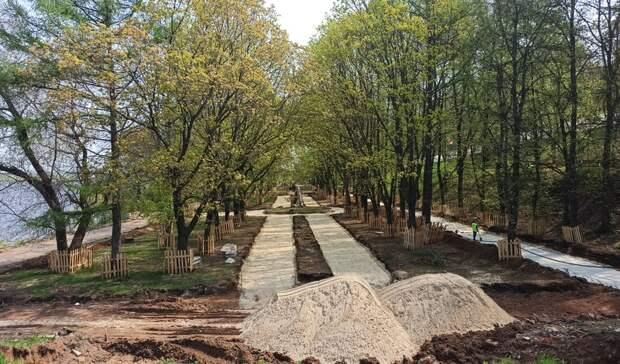 Настала очередь «Ракушки»: Что известно облагоустройстве Александровского сада