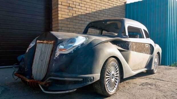 Странный самодельный автомобиль из Новосибирска, или когда у тебя богатая фантазия mitsuoka, авто, автомобили, самоделка, своими руками