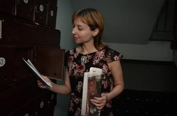 В доме на Дубнинской улице восстановили почтовые ящики