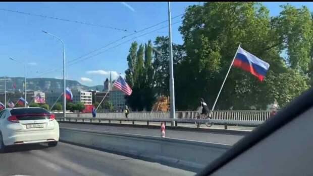 Пушков прокомментировал отсутствие украинского флага на саммите Россия-США
