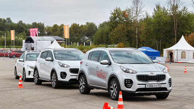 Компания Kia Motors Rus устроила клубный фестиваль
