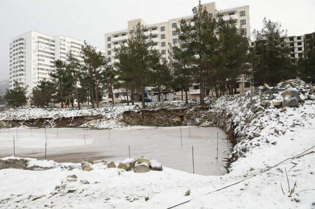 В Краснодарском крае остановят строительство двух домов