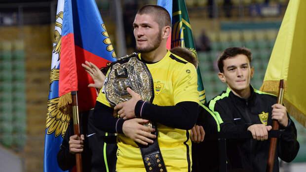 Кадыров: не видел, чтобы наш брат Хабиб выступал с флагом России