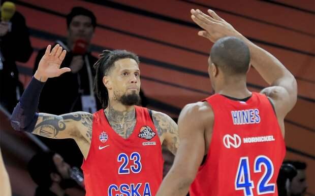 Баскетболисты ЦСКА разгромили «Цмоки-Минск» с разницей в 34 очка