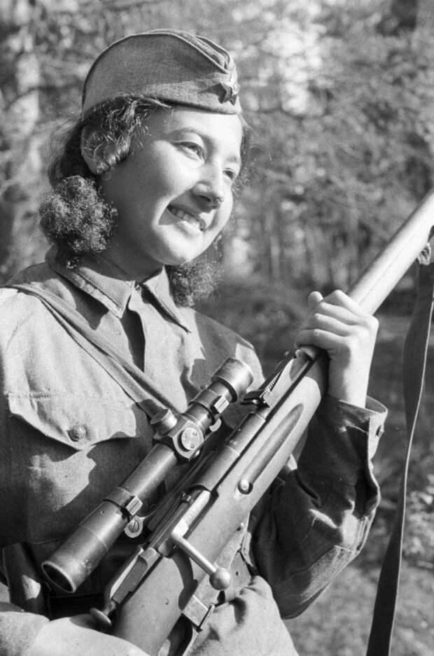 Снайпер Анастасия Степанова