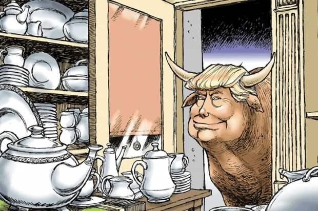 Рыжий слон в посудной лавке
