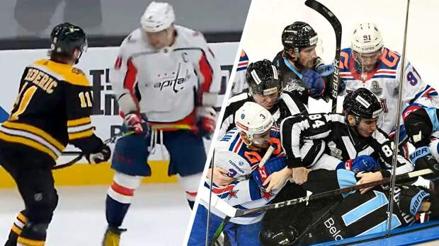 Подлый поступок Овечкина, судейский скандал после победы СКА в Белоруссии. Итоги хоккейной недели