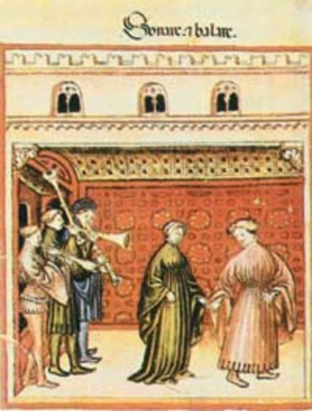Средневековье: культ Прекрасной Дамы