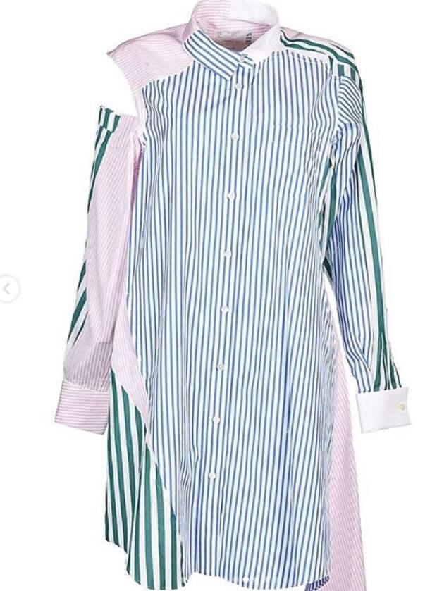 Необычные блузки рубашечного типа