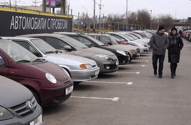 Рынок легковых автомобилей с пробегом существенно подрос