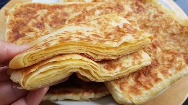 Мука и кипяток: тонкий лаваш на сковороде. Армянский лаваш в домашних условиях