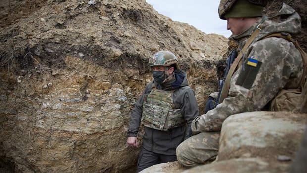 Зеленский пригласил Путина встретиться в Донбассе