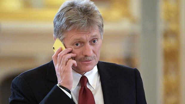 Песков сообщил о продолжении работы по контролю за оборотом оружия