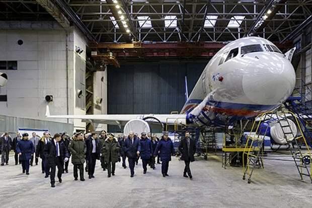 Среди прочего, для военных построили два Ту-214ОН