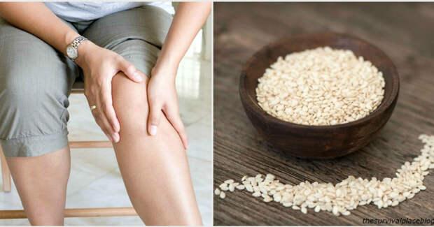Эти семена восстанавливают сухожилия и устраняют боль в суставах!