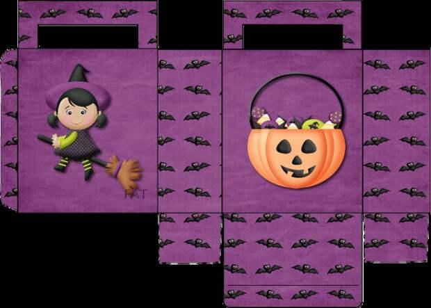 Коробочки для Хеллоуина