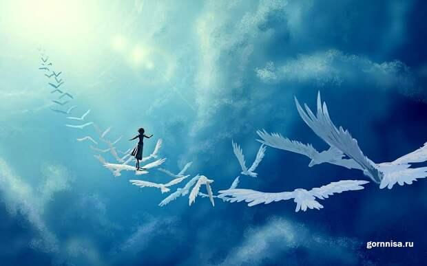 Восемь признаков того, что Вы в этом мире – ангел на обучении