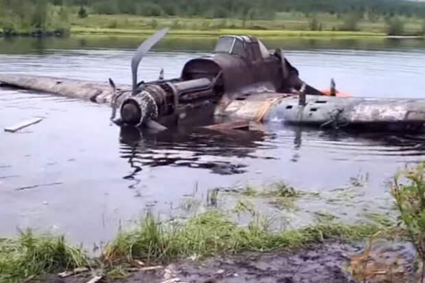 Самолет-призрак из болота: находка черных копателей