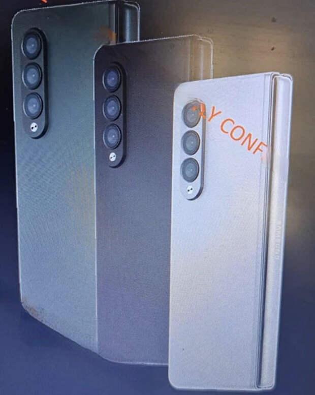 Складные Samsung Galaxy Fold 3 и Flip 3 появились на изображениях