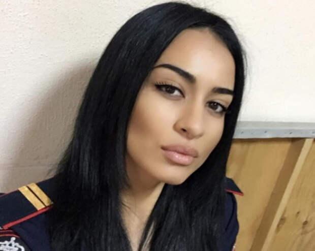 Красавица-модель из Северной Осетии пошла служить в Росгвардию. ФОТО, ВИДЕО