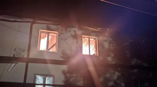 Мужчина погиб на пожаре в многоквартирном доме в Бахчисарайском районе