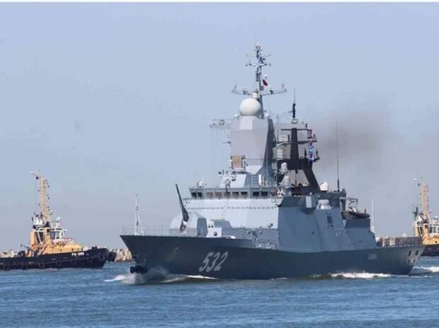 Корабли Балтфлота посетят Сирию, Кипр, Судан и Оман