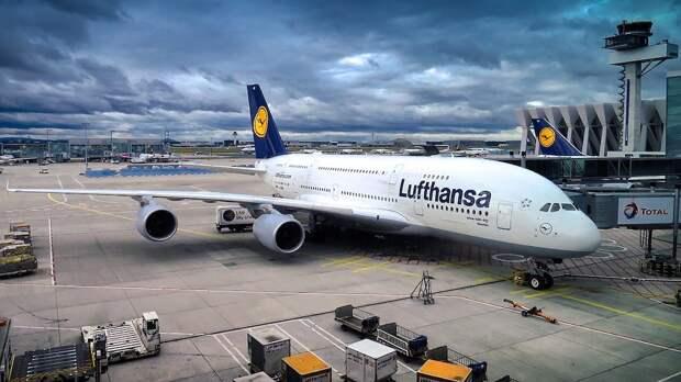 Немецкая Lufthansa сокращает авиафлот на 20%