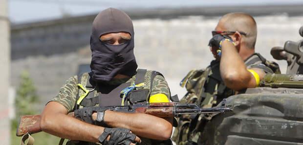 Как развлекаются украинские боевики
