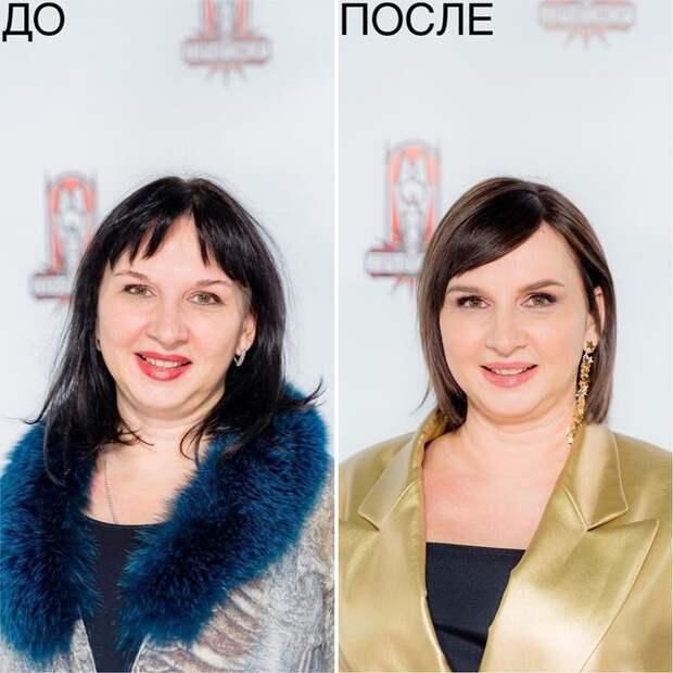«Модный приговор» — как на шоу меняется внешность героинь