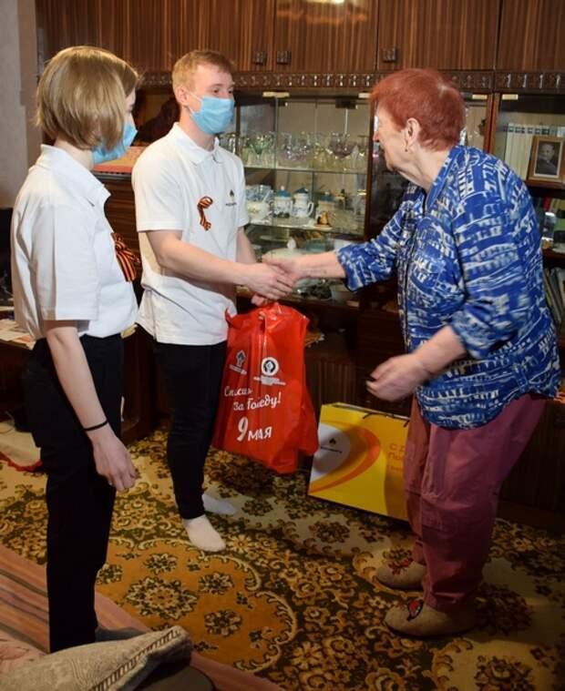 Молодые специалисты Рязанской НПК поздравили ветеранов с наступающим Днём Победы