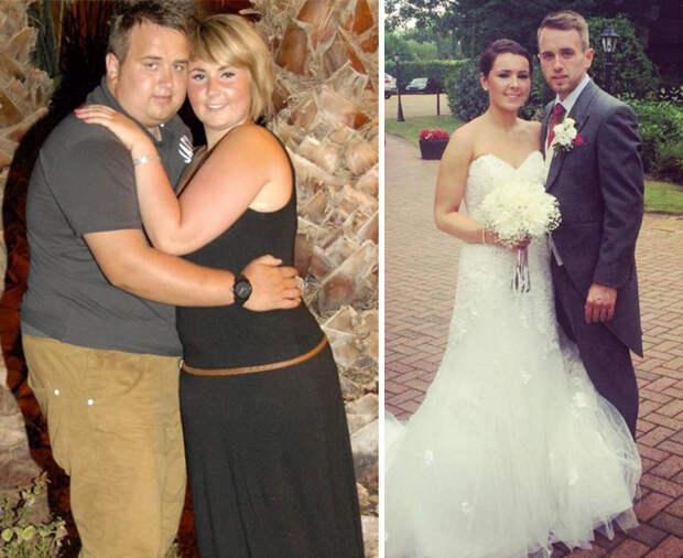 Минус 200 на двоих: 10 влюбленных пар, которые экстремально сбросили лишний вес